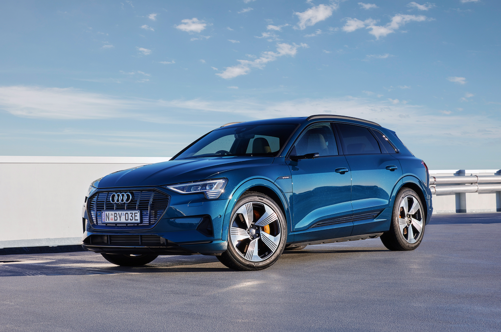 Audi's first-ever fully electric vehicles set to arrive in Australia