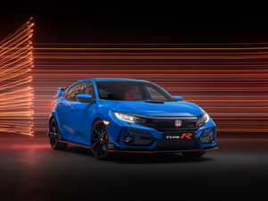 Honda's acclaimed high performance Civic Type R updated for 2020