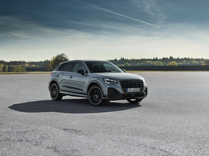 Fully refreshed: The Audi Q2 in new top form
