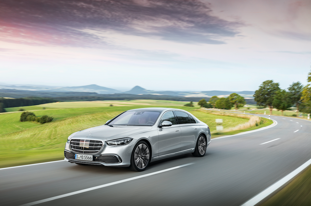 The new Mercedes-Benz S-Class - automotive luxury experienced in a completely new way