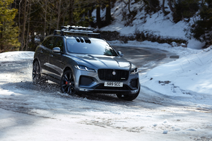 New Jaguar F-Pace: Luxurious, connected, electrified