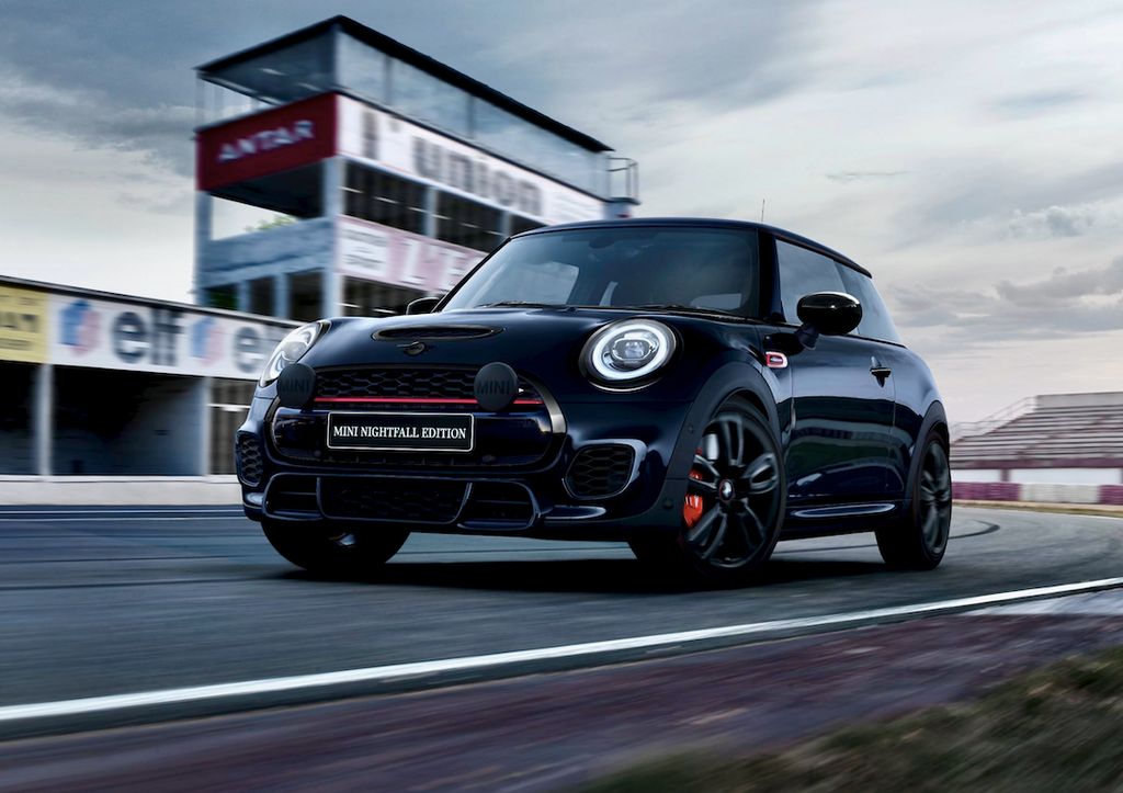 Mini takes a walk on the dark side with the new limited Nightfall Edition hatch and convertible