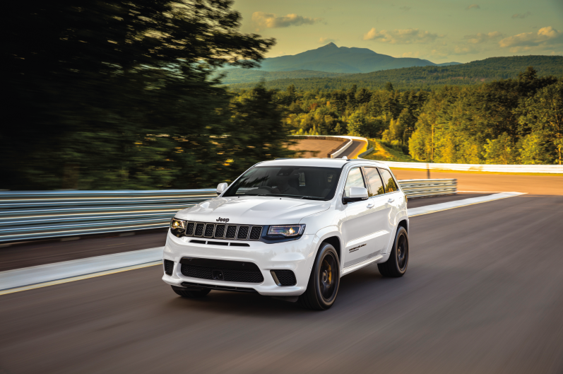 American muscle lives on in Australia with Jeep's quickest and most powerful SUV: the 2020 Jeep Grand Cherokee Trackhawk