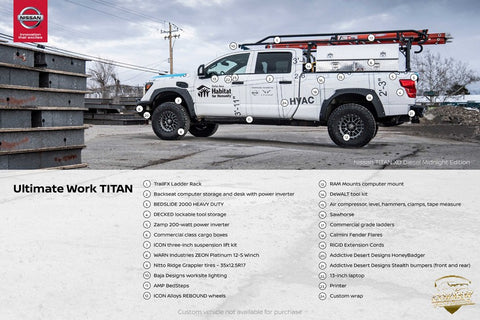 Nissan Titan XD - Calling All Titans - Habitat for Humanity