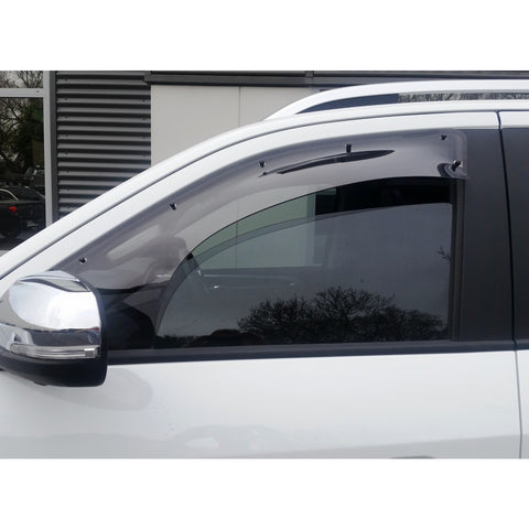 LDV T60 Large Weather shield - Passenger Side - Corsair Vehicle Solutions
