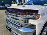 Chevrolet Silverado 1500 Bonnet Protector 2020 to 2022 Models - Tinted - Corsair Vehicle Solutions
