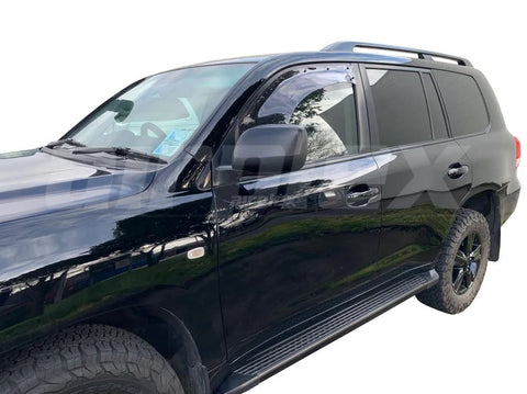 Weather Shield - Large - Light Tint - Front Left Side - Suit Toyota Landcruiser 200 Series - Corsair Vehicle Solutions