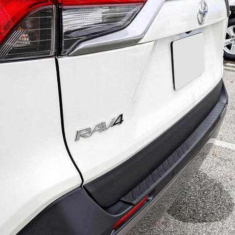 Toyota Rav4 Rear Bumper Scuff Protector - suits 2018 to 2021 - Corsair Vehicle Solutions