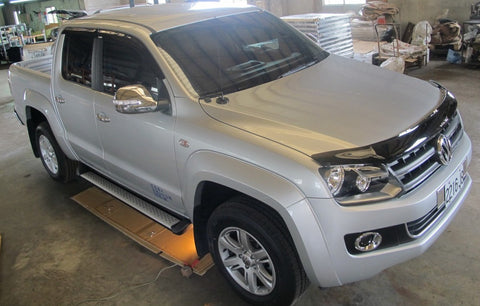 VW Volkswagen Amarok Fender Flares (Set of 6) - Dual Cab OEM Style unpainted - Corsair Vehicle Solutions