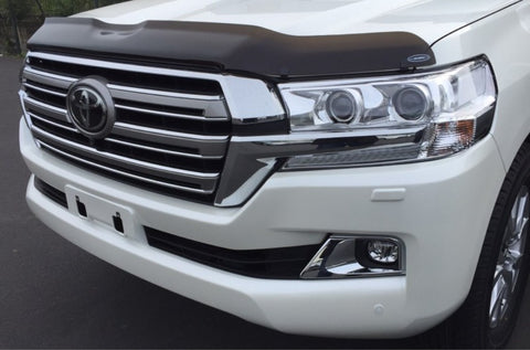 Shaped Tinted Bonnet Protector - Toyota Landcruiser 200 series (2015 onwards) - Corsair Vehicle Solutions