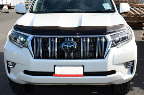 Shaped Tinted Bonnet Protector - Toyota Prado 150 (2017 update) - Corsair Vehicle Solutions
