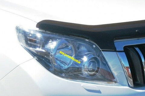 Headlight Protectors (clear) to suit Prado 2009-2013 GX/GXL/Altitude/VX/Kakadu - Corsair Vehicle Solutions