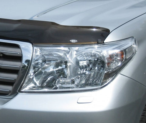 Headlight Protectors (clear) to suit Landcruiser 200 series 2007-2015 facelift GX/GXL/VX/Sahara - Corsair Vehicle Solutions