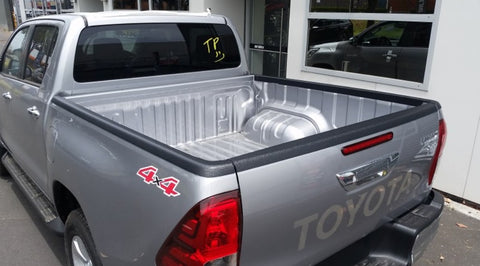 Side Rail Cap 3 Piece Set- Double Cab Set Hilux N80 2015 onwards