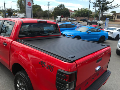 Barking Gecko Roller Cover - Toyota Hilux N80 Double Cab Pickup - Corsair Vehicle Solutions