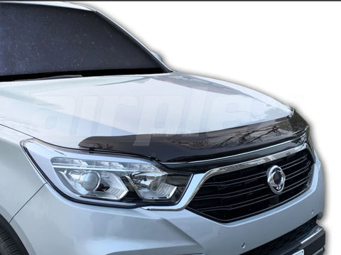 Ssangyong Rexton Bonnet Protector 2018 - 2020 - CLEAR - Corsair Vehicle Solutions