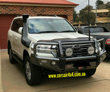 Shaped Tinted Bonnet Protector - Toyota Landcruiser 200 series (2015 - 2021) - Corsair Vehicle Solutions