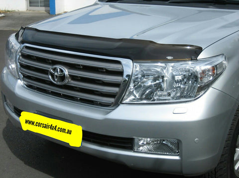 Shaped Tinted Bonnet Protector - Toyota Landcruiser 200 series (2007-2015) - Corsair Vehicle Solutions