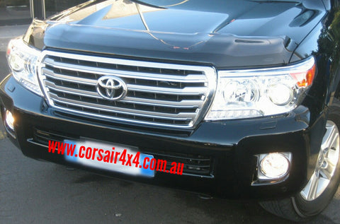 Shaped Clear Bonnet Protector - Toyota Landcruiser 200 series (2007-2015) - Corsair Vehicle Solutions