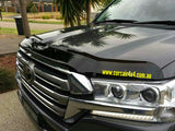 Shaped Tinted Bonnet Protector - Toyota Landcruiser 200 series (2015 onwards)