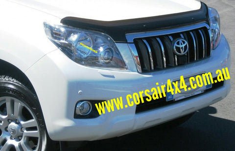 Tinted Bonnet Protector - Toyota Prado 150 (2009-2013) - Corsair Vehicle Solutions