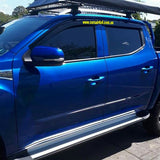 Premium Slimline Weather Shields (Tinted) - LDV T60 - Corsair Vehicle Solutions
