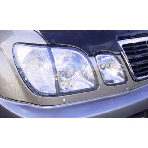 Headlight Protectors (clear) to suit Lexus LX470 1998-2007 - Corsair Vehicle Solutions
