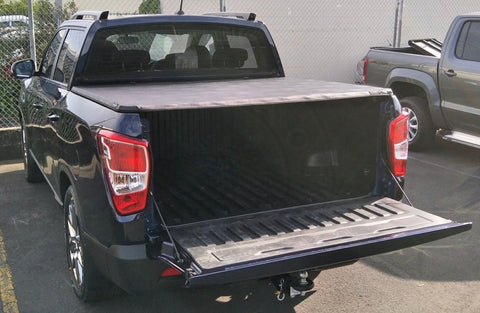 Ssangyong Soft Tonneau Cover SWB 2018 onward - Not suitable for sports bars or cab protector equipped vehicles - Corsair Vehicle Solutions