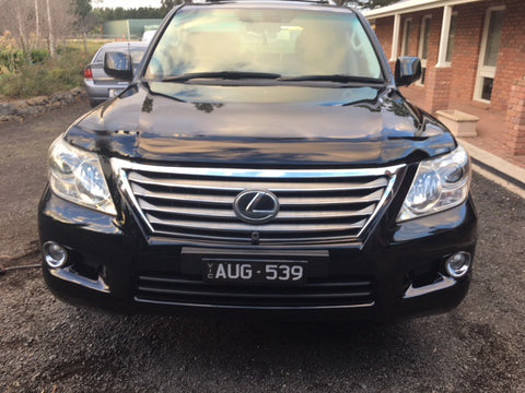 Lexus LX570 Bonnet Protector 2008 onwards - Tinted