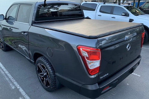 Ssangyong Soft Tonneau Cover LWB 2018 onward - Not suitable for sports bars or cab protector equipped vehicles