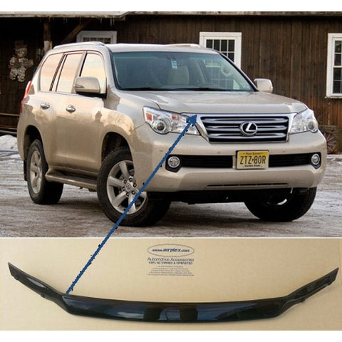 Lexus GX460 Bonnet Protector 2010 onwards - Tinted