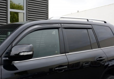 Lexus LX570 Premium Slimline Weather Shield Wind Deflectors