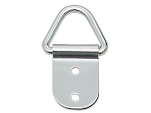 Adam Hall Hardware  Ring For shoulder Strap chrome P