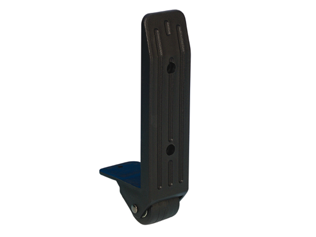 Adam Hall Hardware  Edge Castor 40 mm in Nylon Housing