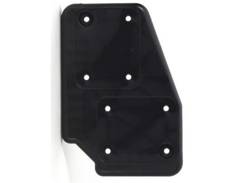 Adam Hall Hardware  Castor Plate polyamide Black right