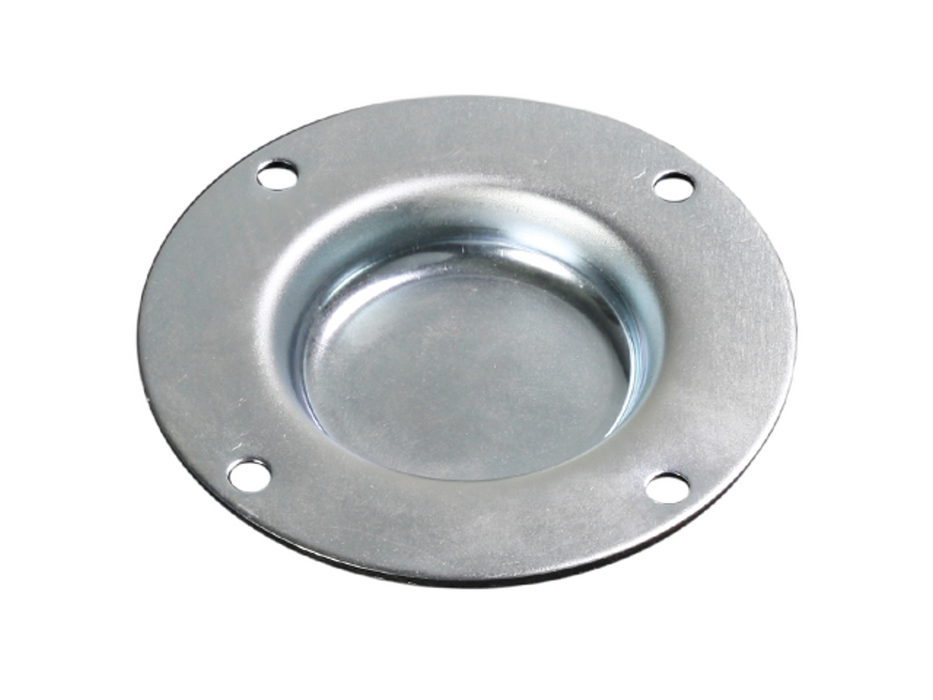 Adam Hall Hardware  Small Stacking Dish, Zinc plated