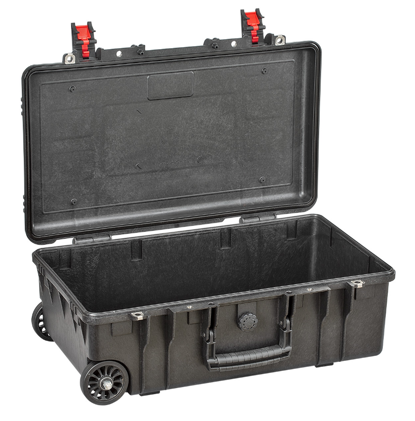Explorer Waterproof Case  LightWeight, 52x28x18 cm (26,6lt) w/ wheels