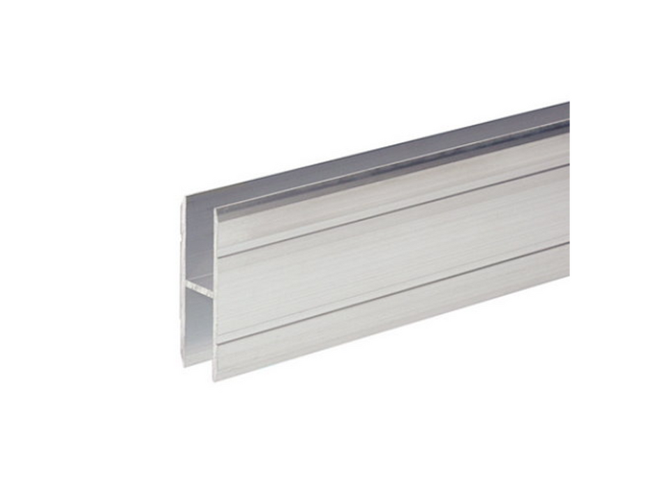 Adam Hall Hardware  Aluminium H-Section 10 mm For Joining Large Panels