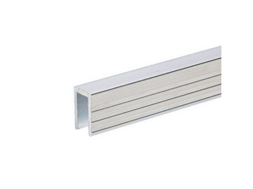 Adam Hall Hardware  Aluminium Capping Channel For 7 mm Dividing Wall