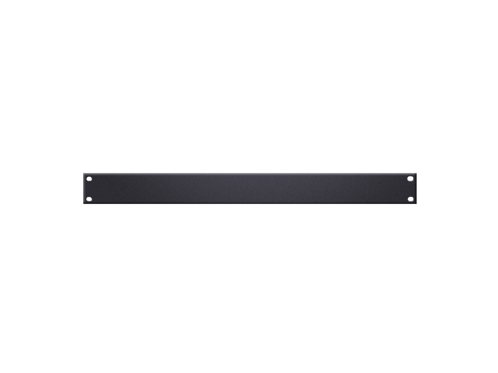 Adam Hall Hardware  U-Shaped Rack Panel 1U Steel