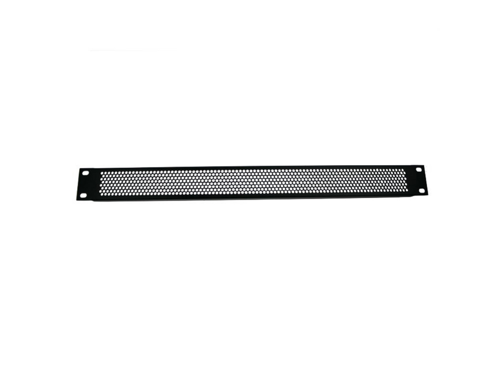 Adam Hall Hardware  Ventilation Rack Panel 1U Steel
