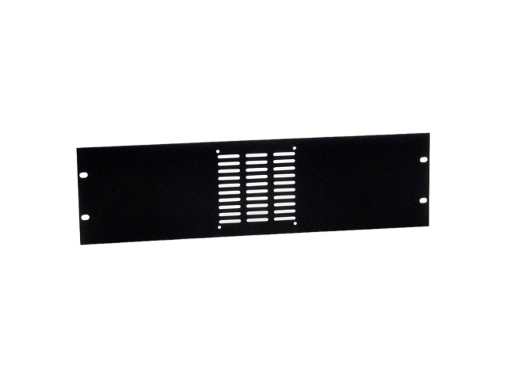 Adam Hall Hardware  Rack Panel punched For 1 fans