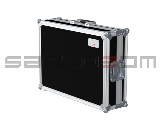 Santosom Video Controller  Flight case, Chauvet Stage Designer 50