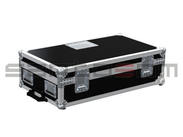 Santosom Video Projector  Flight Case, Panasonic Frame PTD6000ES + Lens