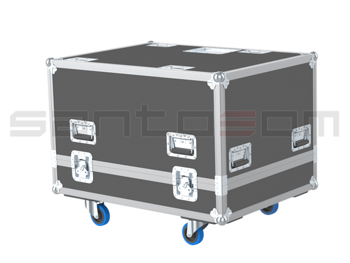 Santosom Video Projector  Flight Case, Christie Roadster HD20K-J