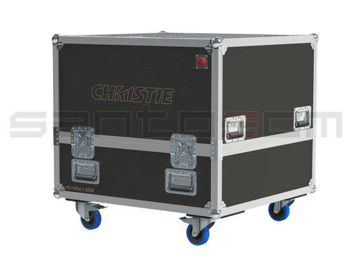 Santosom Video Projector  Flight Case Pro, Frame Christie Roadster WU14KM + lens