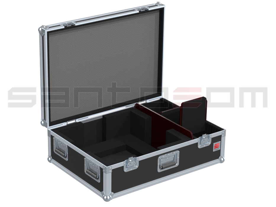 Santosom Video Projector  Flight case, Panasonic Optoma DLP ZU650 / DLP DZ 9000