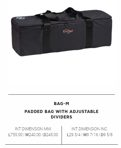 Explorer Accessory  Padded Bag With Adjustable Dividers For Case 7630