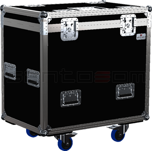 Santosom Blind  Flight case PRO, 12x Showtec led Pixel Bar 8 COB