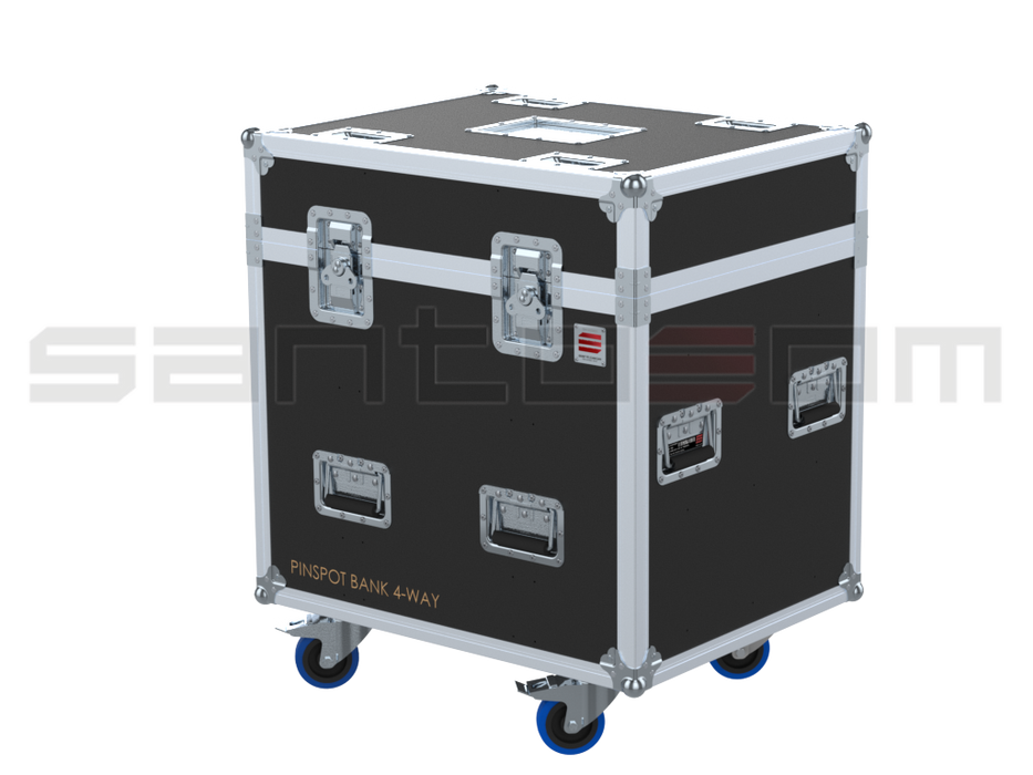 Santosom Blind  Flight case PRO, 6x Pinspot Bank